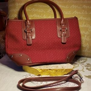👜 Relic Bag in Deep Cranberry Red Color